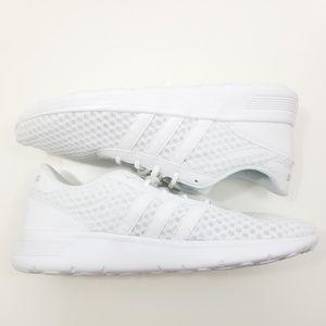 White adidas lite racer NEO size 10 womens new